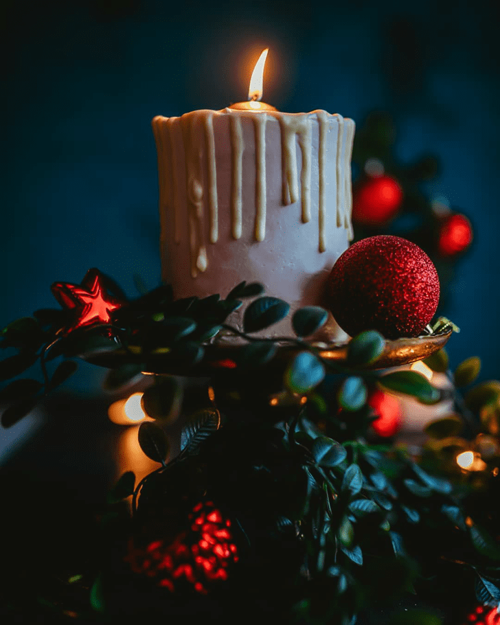 Alluring Candle Cake