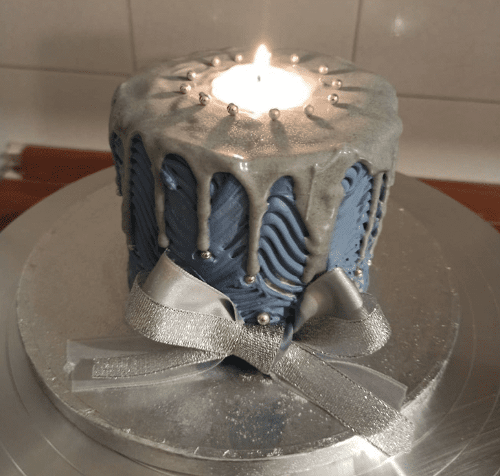 Bewitching Candle Cake