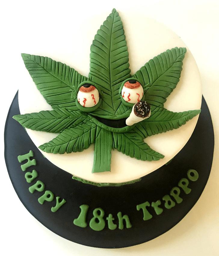 Adorable Cannabis Cake