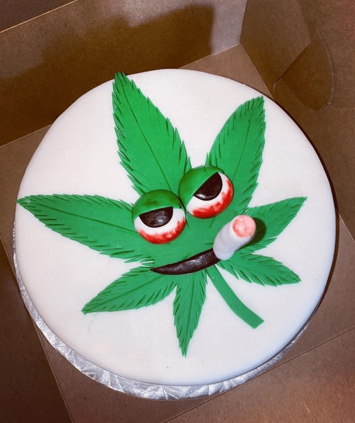 Alluring Cannabis Cake