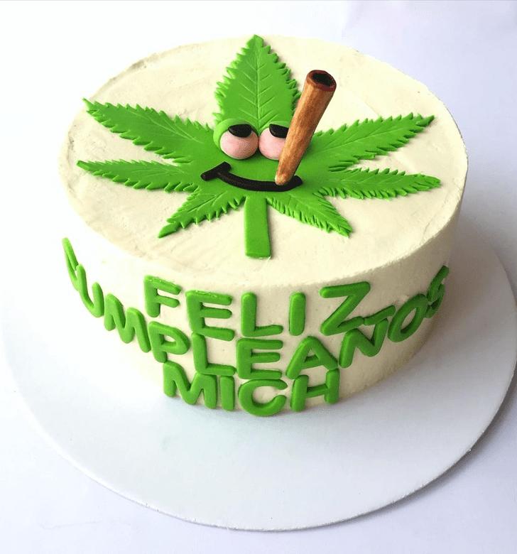 AnCannabisic Cannabis Cake