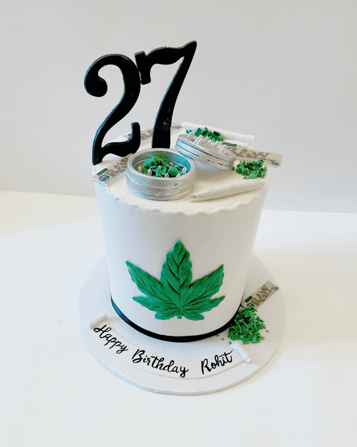 Appealing Cannabis Cake
