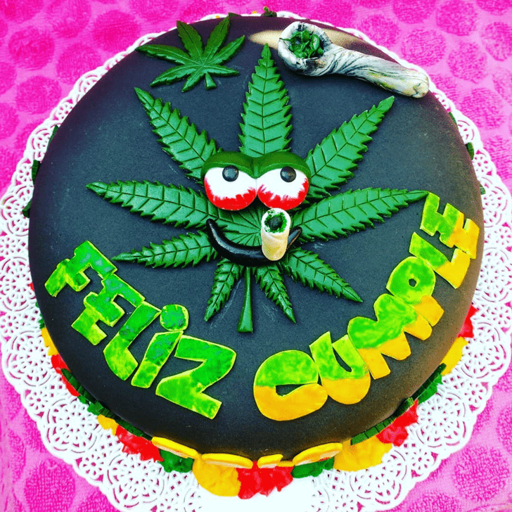 Bewitching Cannabis Cake