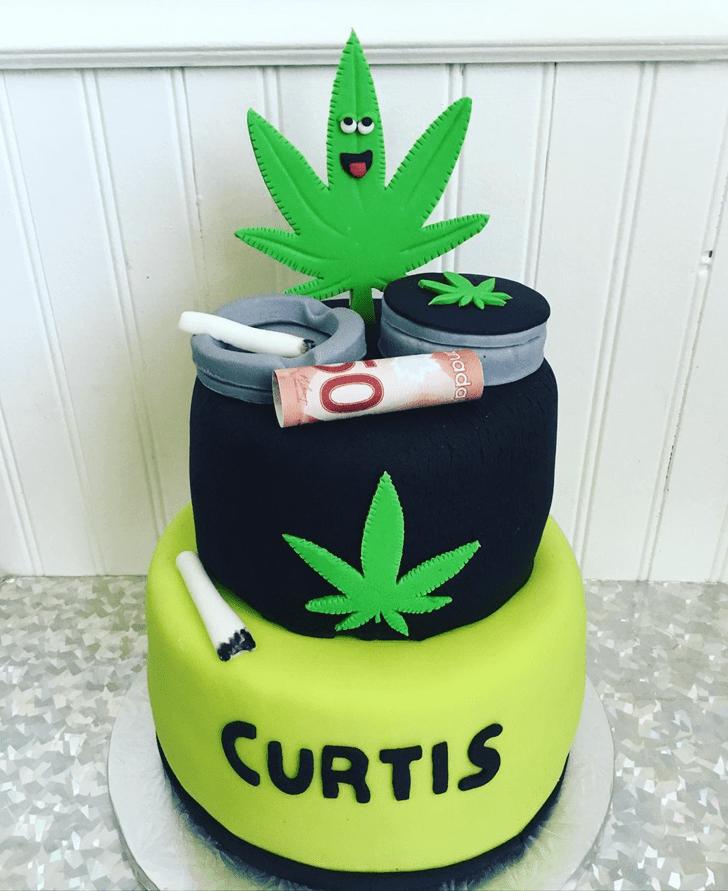 Classy Cannabis Cake