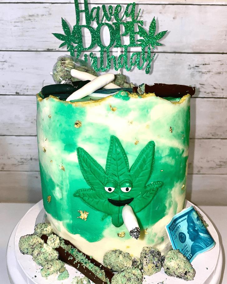 Delightful Cannabis Cake