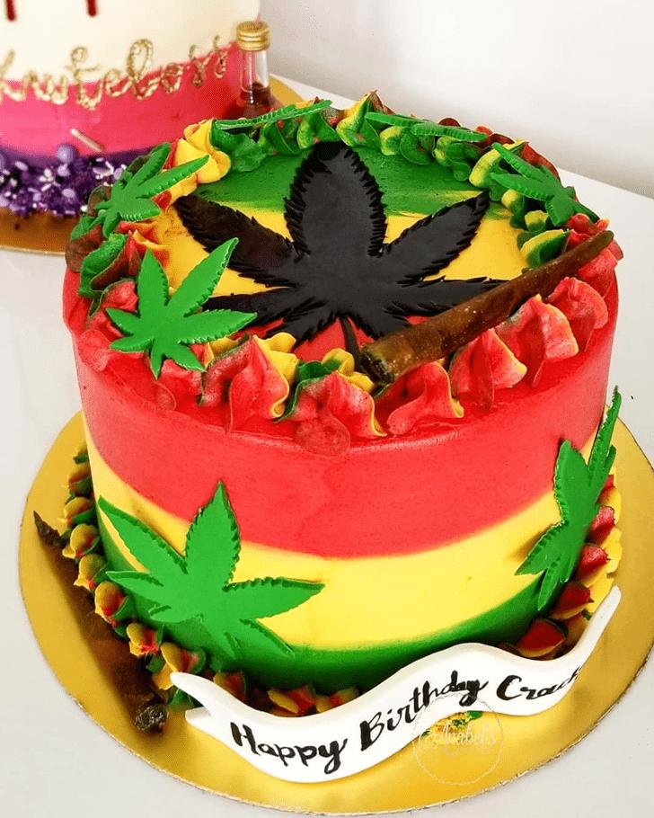 Enthralling Cannabis Cake