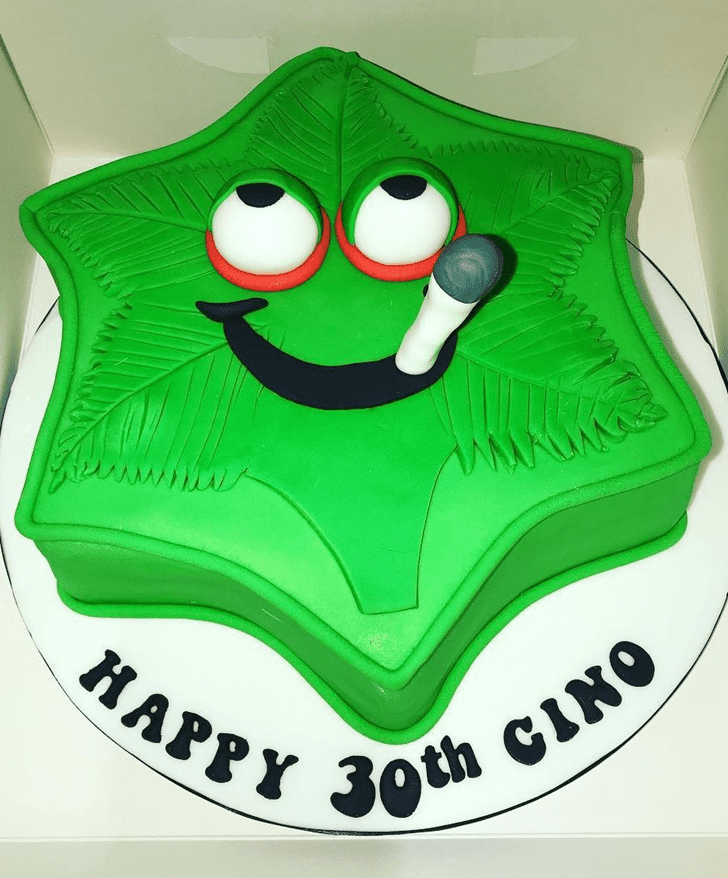 Fetching Cannabis Cake