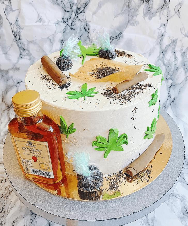 Good Looking Cannabis Cake