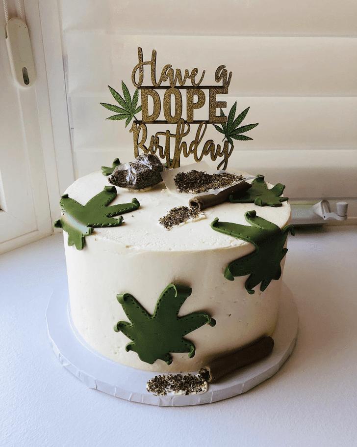 Gorgeous Cannabis Cake