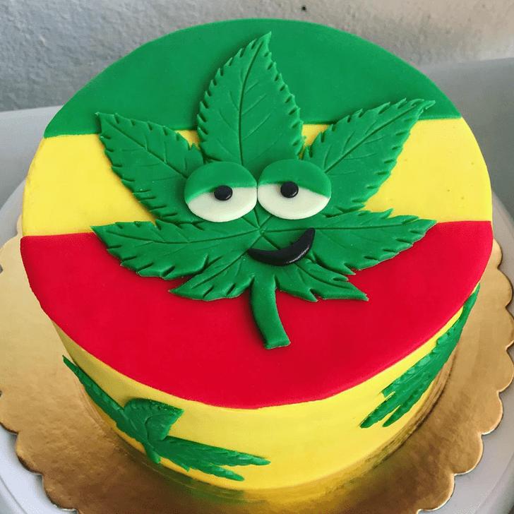 Graceful Cannabis Cake
