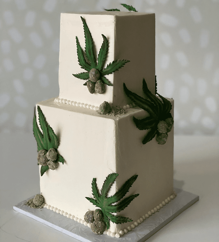 Magnetic Cannabis Cake