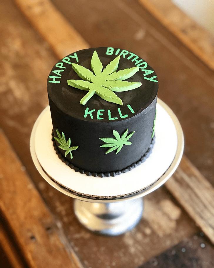 Magnificent Cannabis Cake