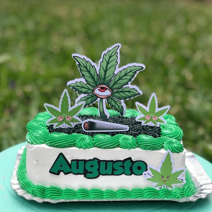Nice Cannabis Cake