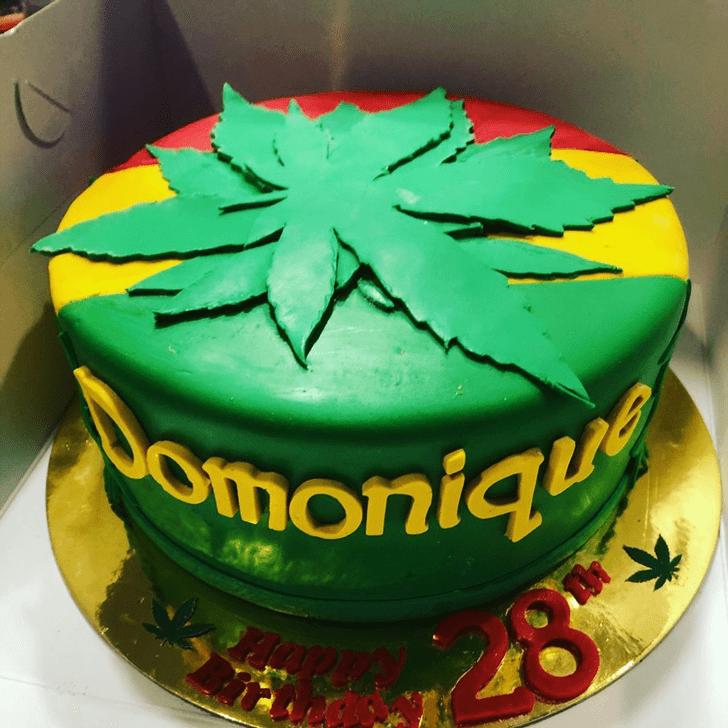 Radiant Cannabis Cake
