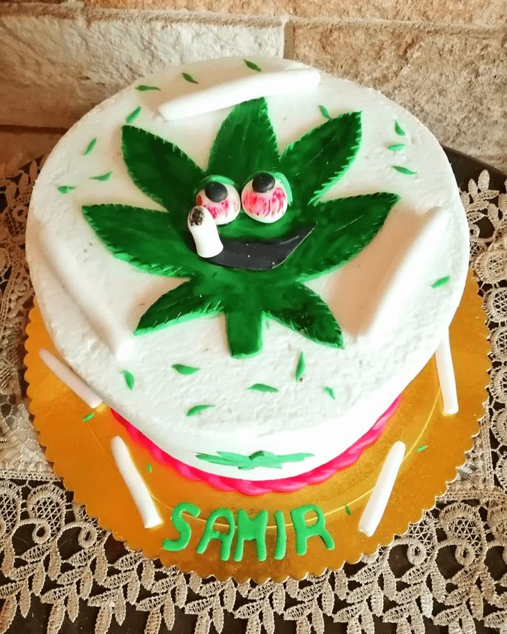 Slightly Cannabis Cake