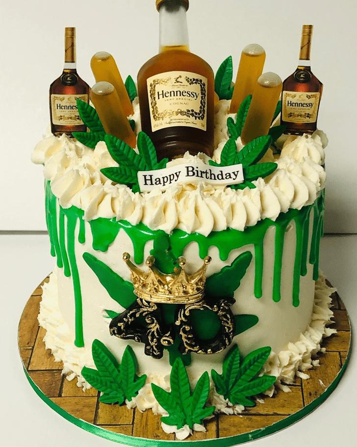 Wonderful Cannabis Cake Design