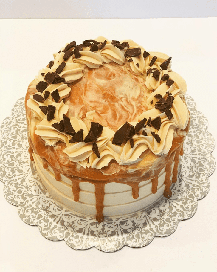 Beauteous Caramel Cake