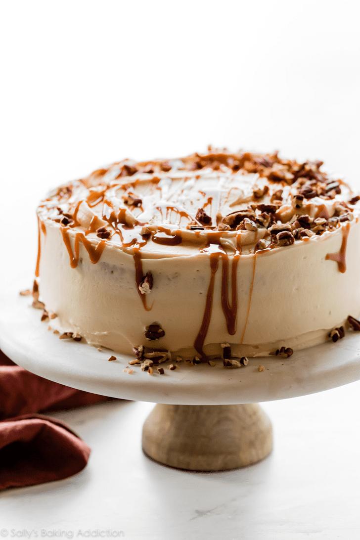Classy Caramel Cake