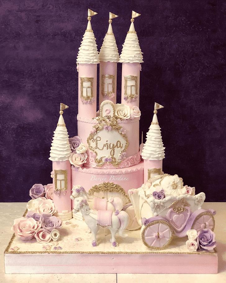 Admirable Castle Cake Design