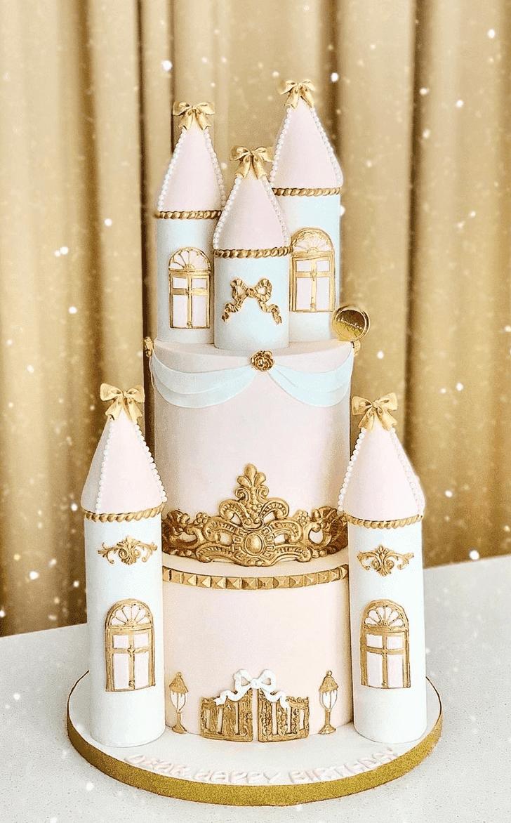 Alluring Castle Cake