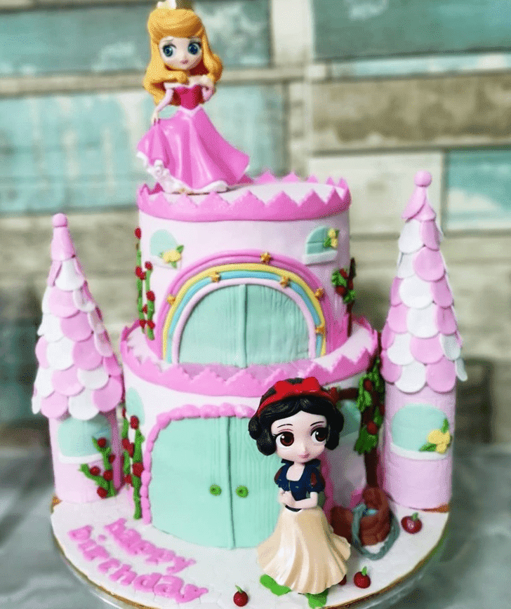 Bewitching Castle Cake