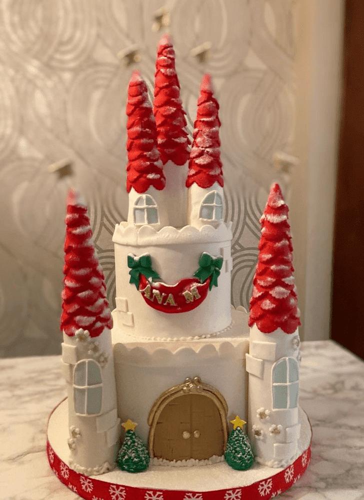 Charming Castle Cake