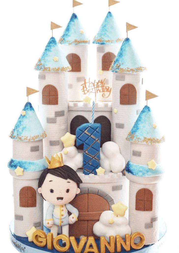 Classy Castle Cake