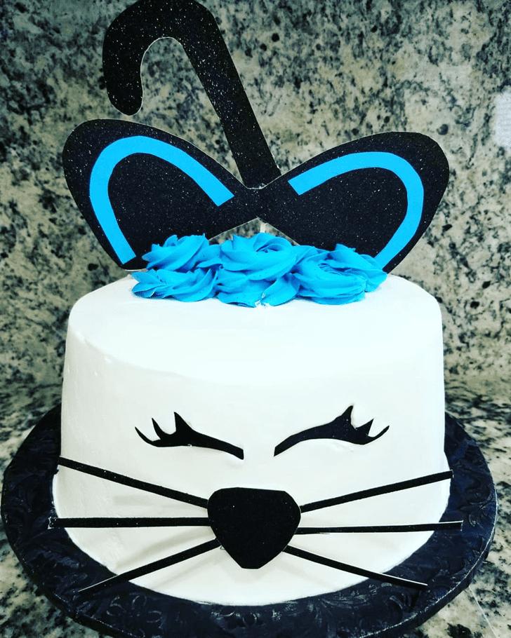 Angelic Cat Cake