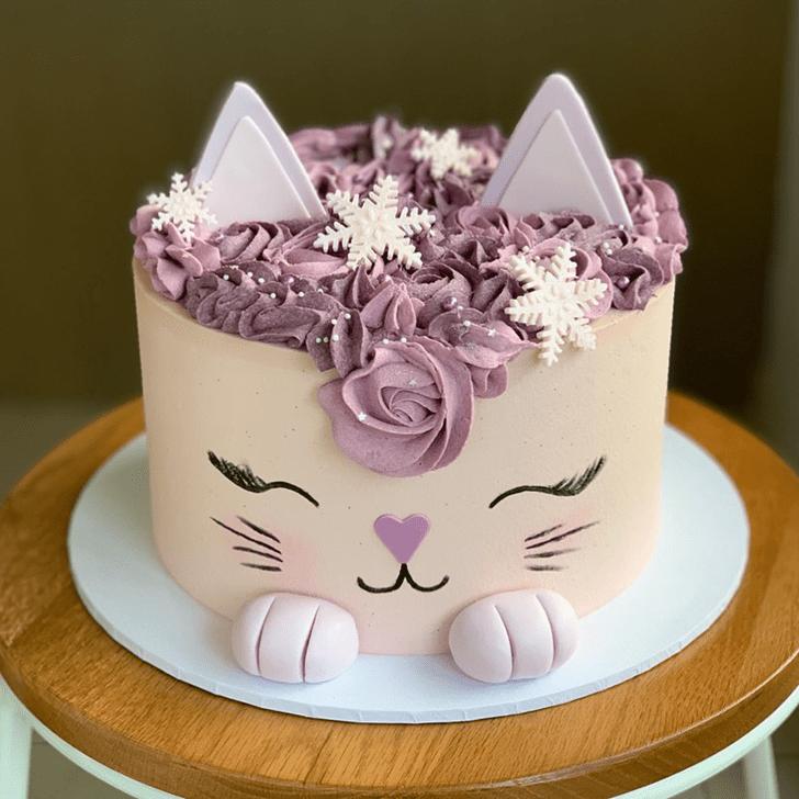 Bewitching Cat Cake