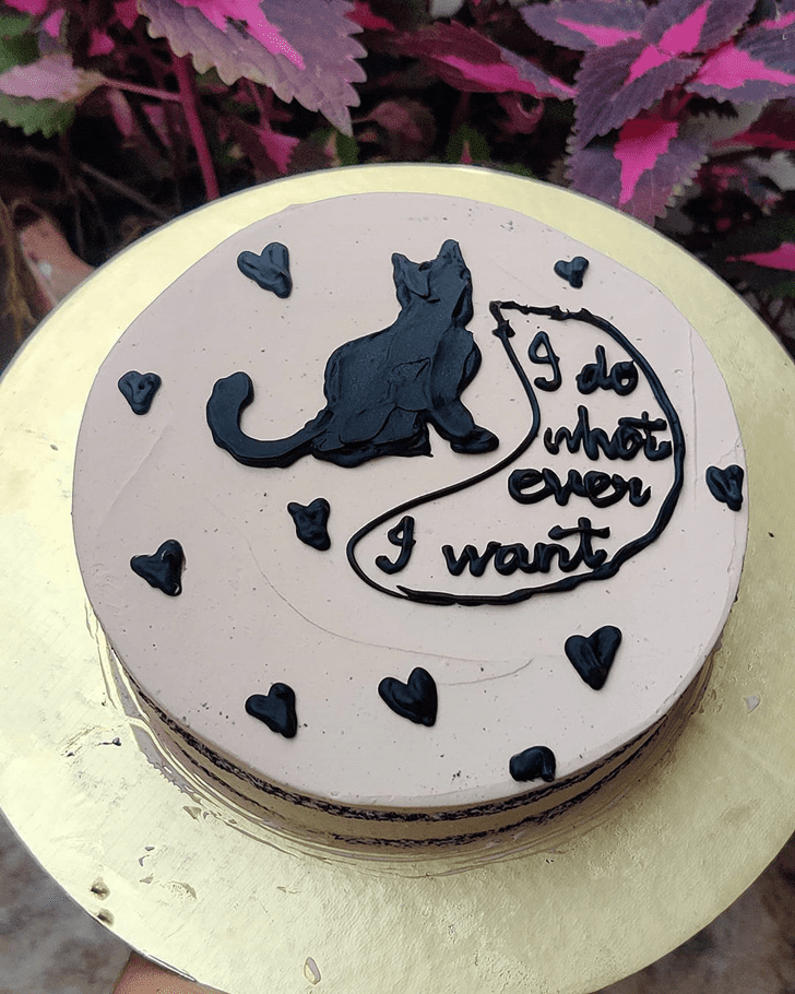 Fascinating Cat Cake