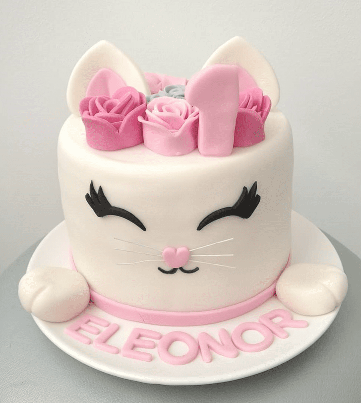 Good Looking Cat Cake