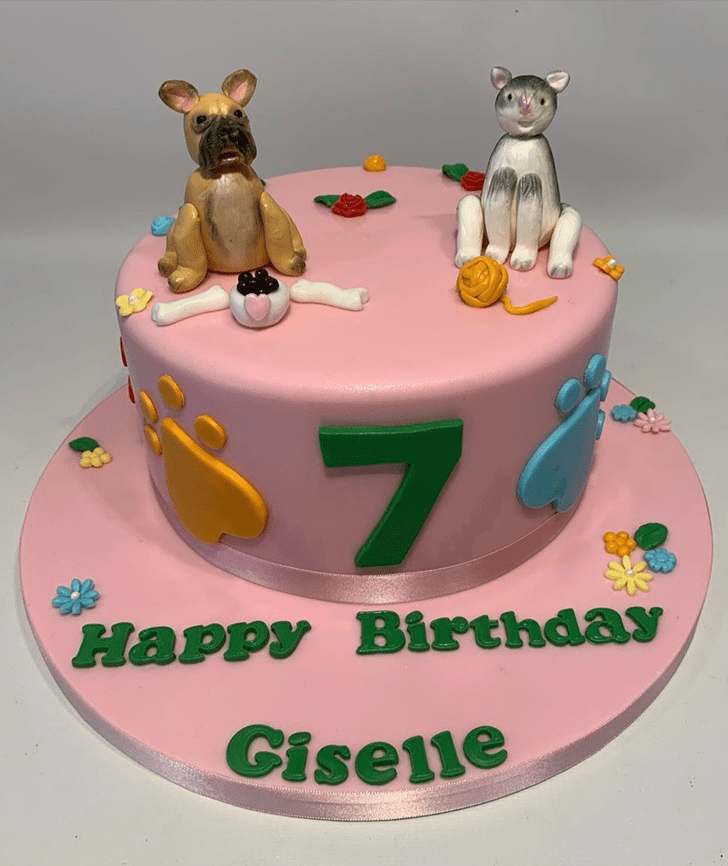 Graceful Cat Cake