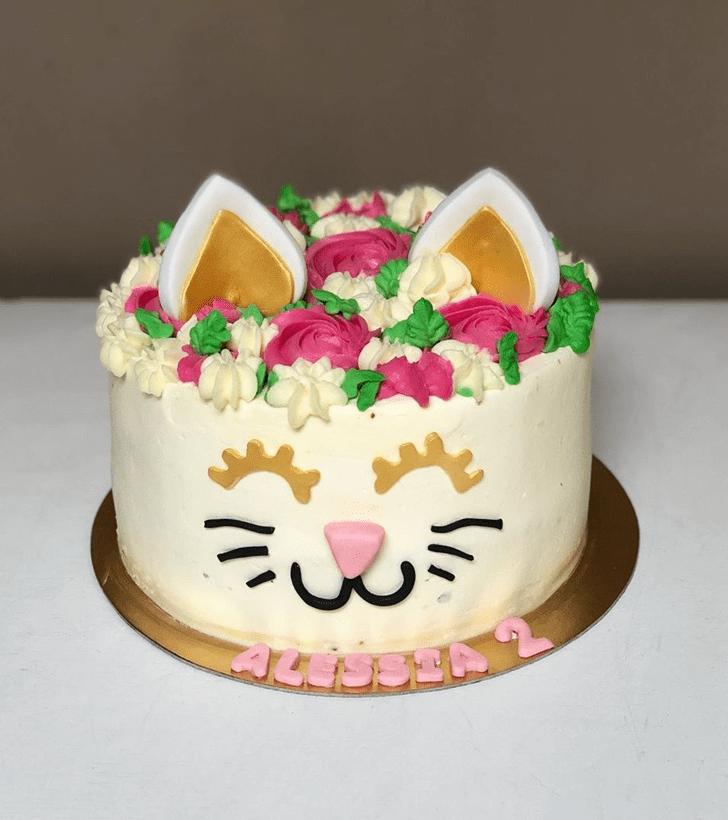 Ideal Cat Cake