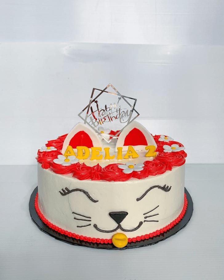 Magnificent Cat Cake
