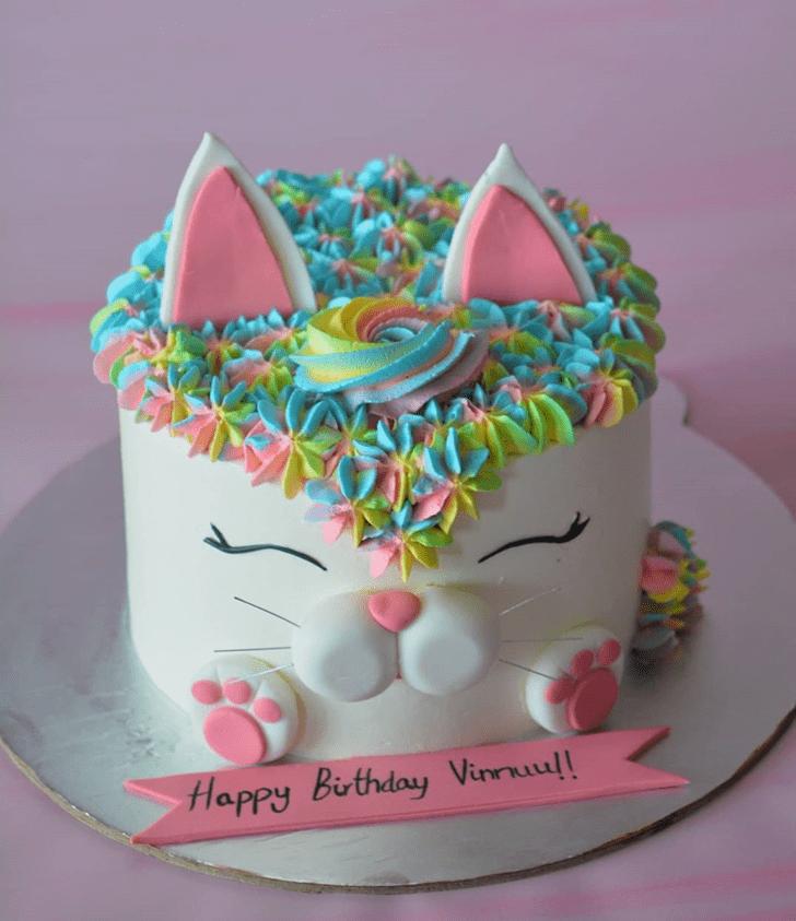 Mesmeric Cat Cake