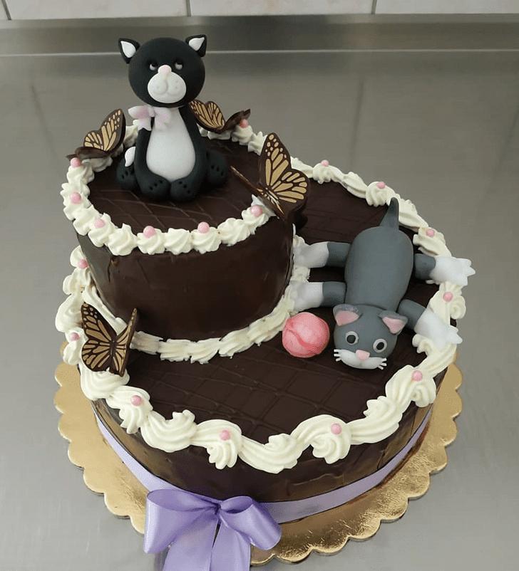 Pleasing Cat Cake
