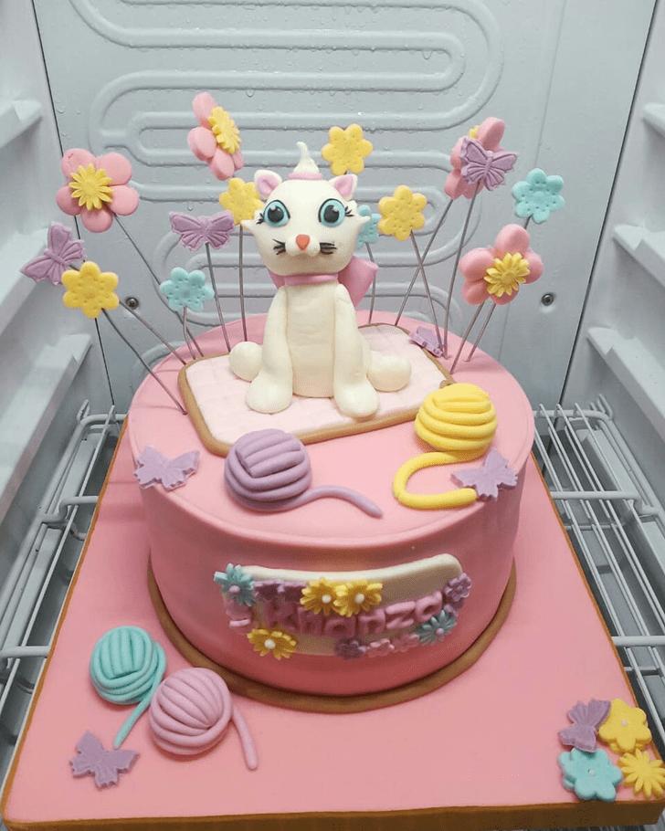 Radiant Cat Cake