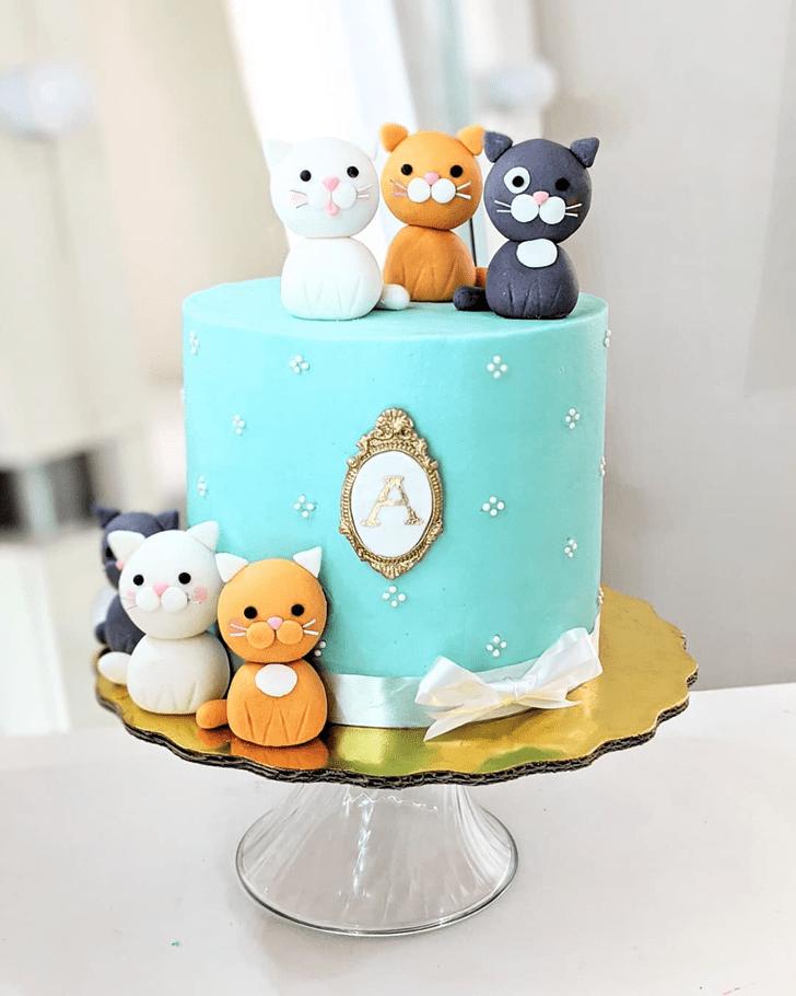 Ravishing Cat Cake