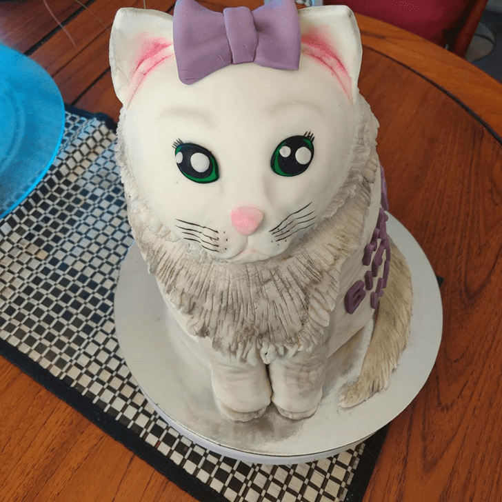 Slightly Cat Cake