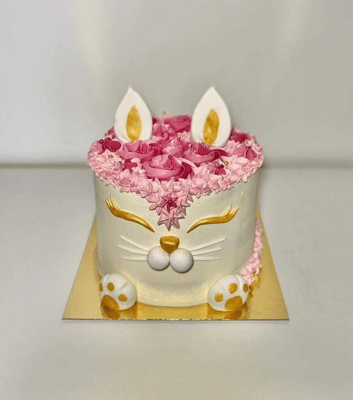 Wonderful Cat Cake Design