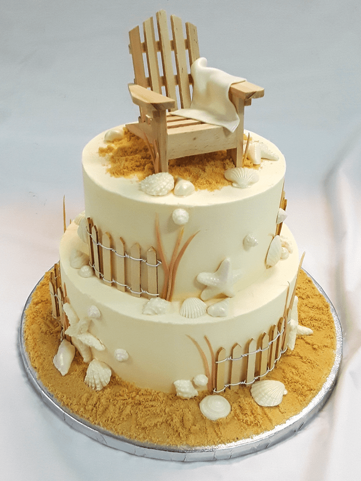 Admirable Chair Cake Design