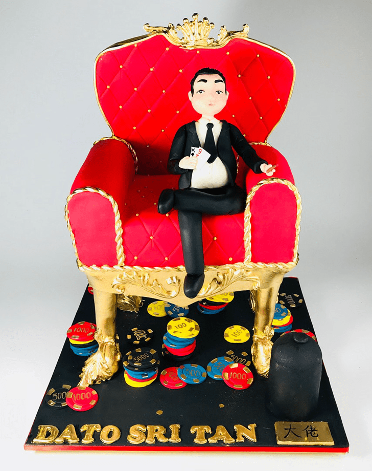 Appealing Chair Cake