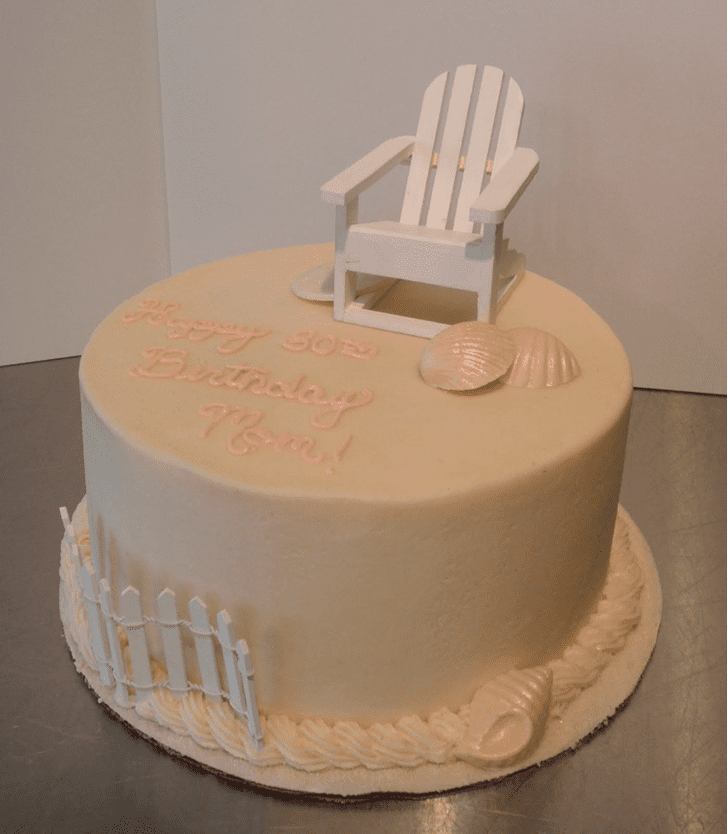 Beauteous Chair Cake