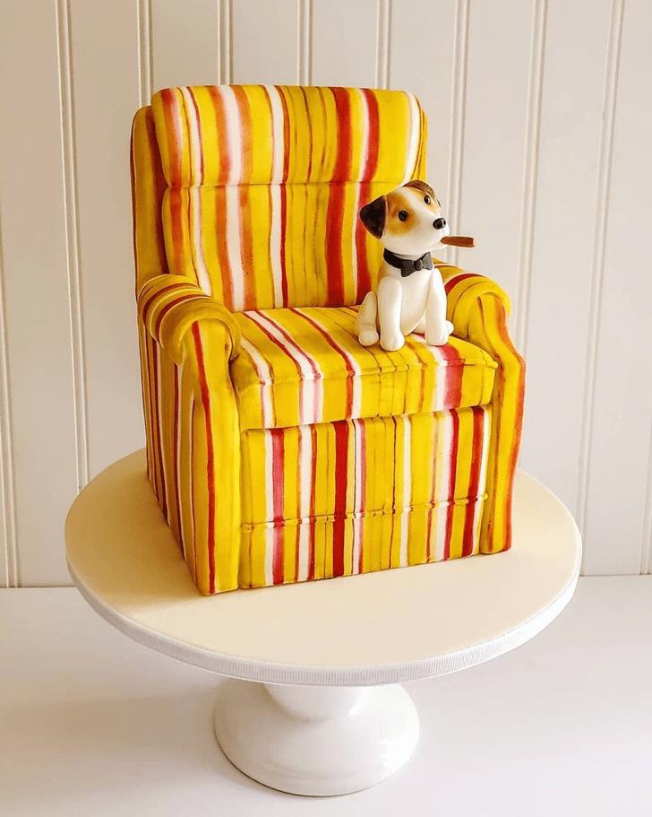 Charming Chair Cake