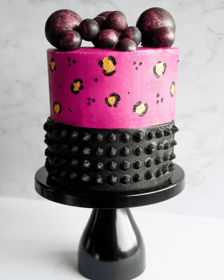 Divine Cheetah Cake