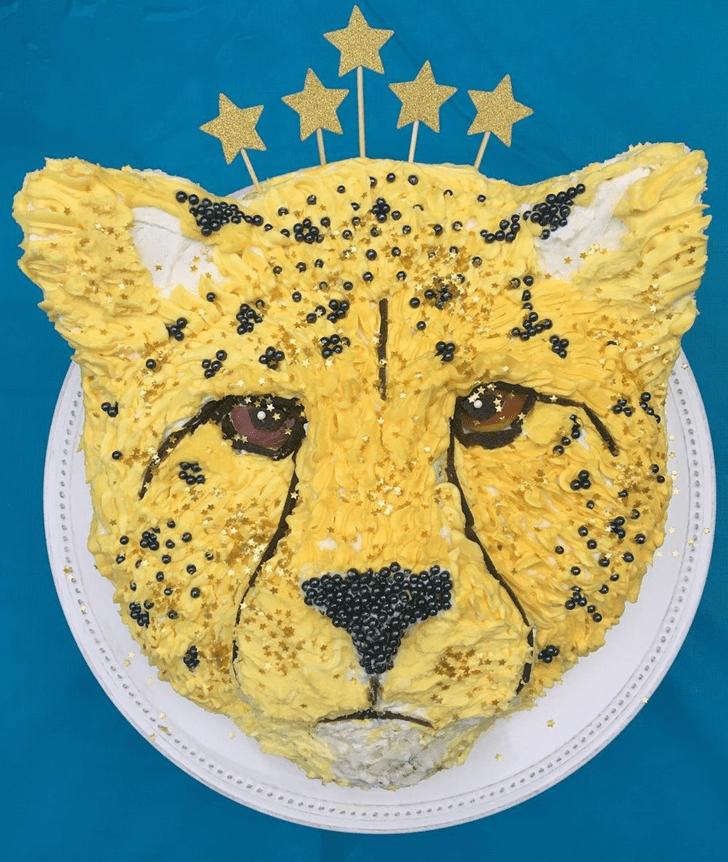 Excellent Cheetah Cake
