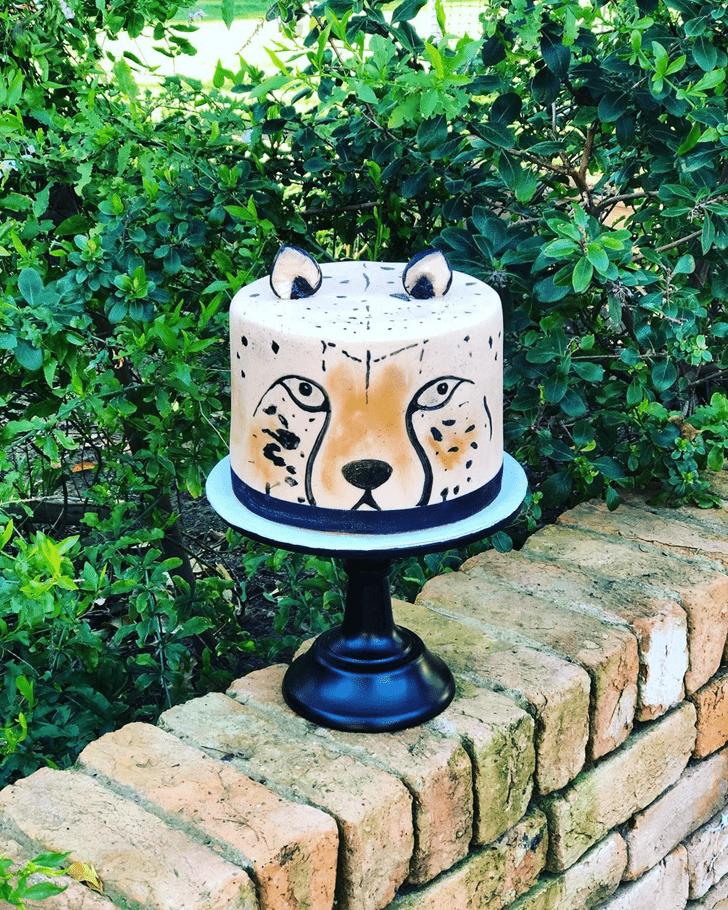 Fair Cheetah Cake