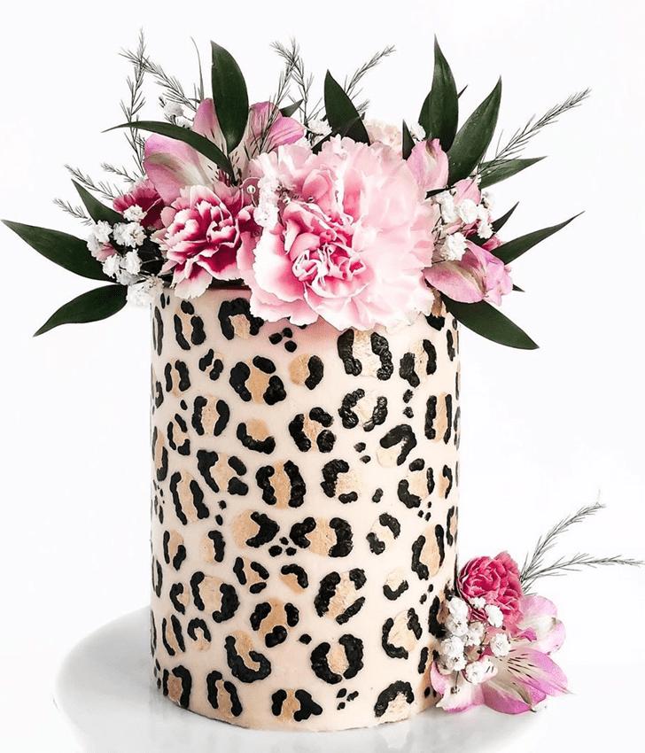 Gorgeous Cheetah Cake