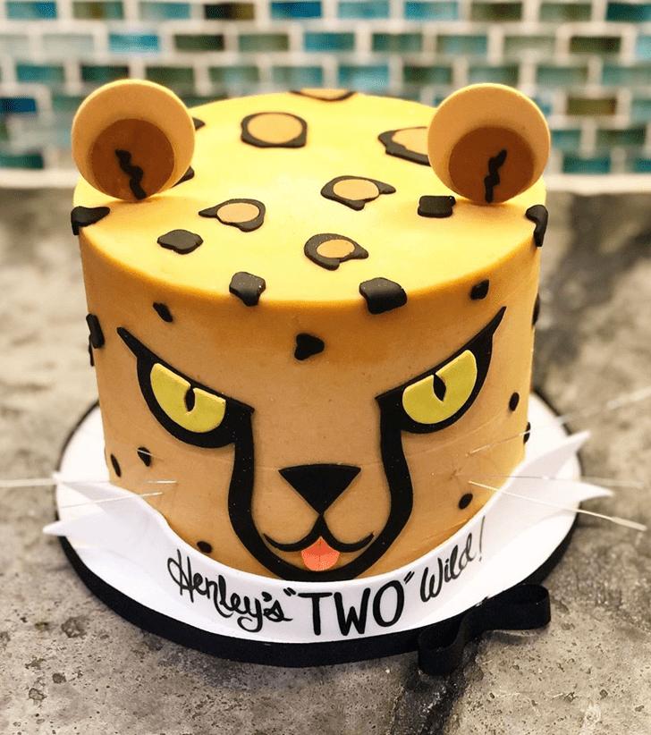 Slightly Cheetah Cake