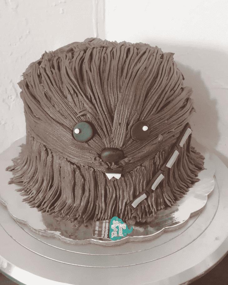 Charming Chewbacca Cake